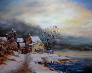 Téli reggel