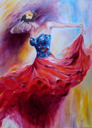 Tüzes tánc a Razumovskaya után